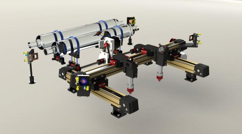 直线滑台激光机