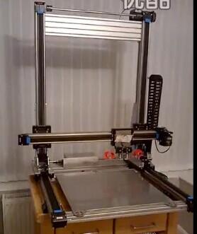 CCCM滑台,同步带滑台,3D打印机滑台